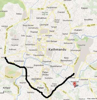 Kathmandu ring road